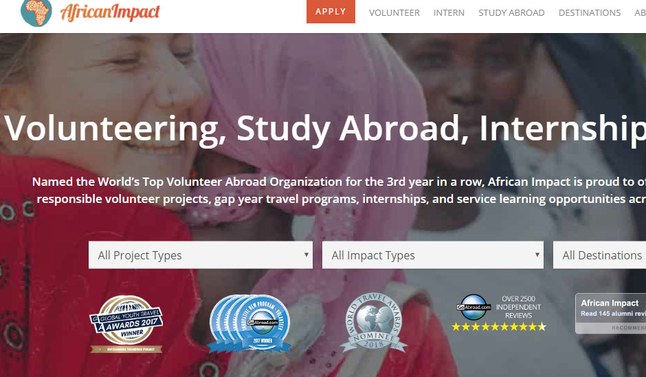 african impact best Cheap Volunteer Abroad Programs