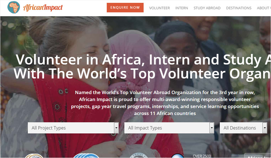 African impact international volunteer abroad programs