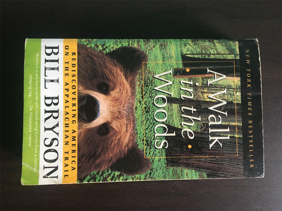 best book for the travelers bill bryson a walk in the woods
