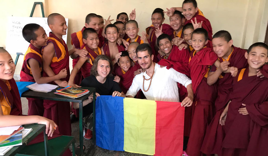 volunteer in a monastery in a best Cheap Volunteer Abroad Programs