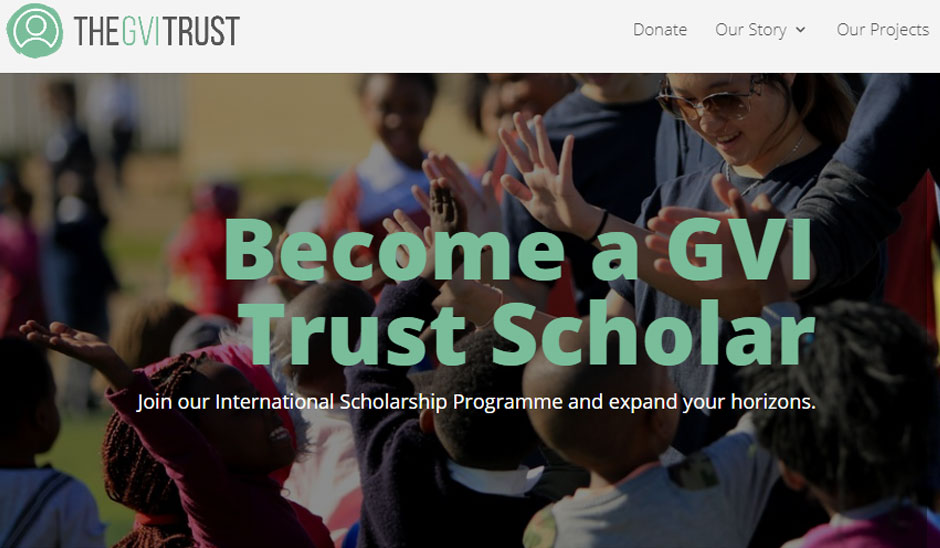 gvi volunteer abroad scholarship