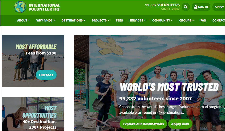 IVHQ volunteer abroad, international volunteer HQ program