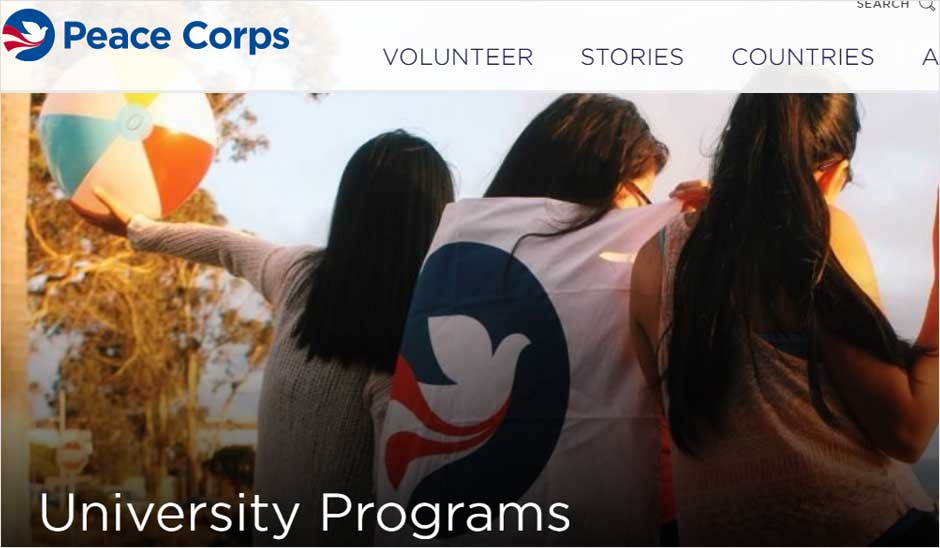 Peace Corps University Volunteers