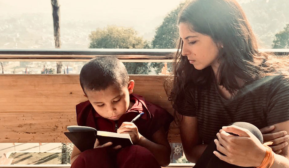 teaching moment with a kid of nunnery