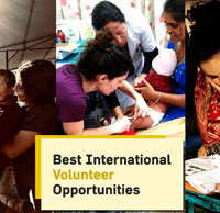 Best  International Volunteer opportunities, Vacations and Projects Abroad for  2020-21