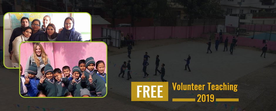 free volunteer teaching