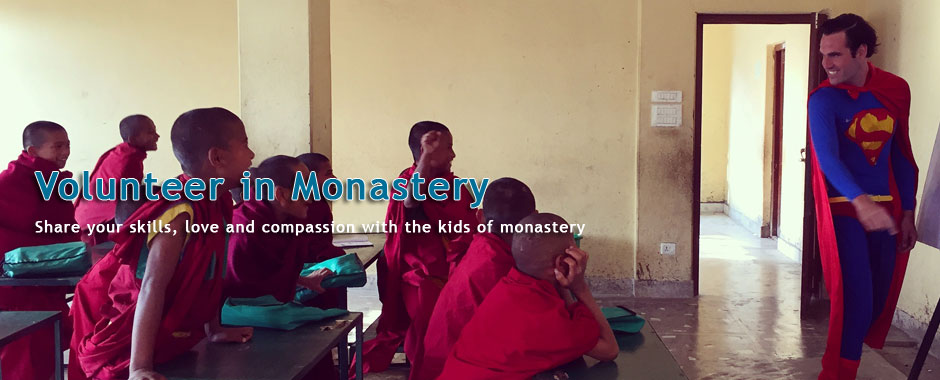 volunteer in monasteries